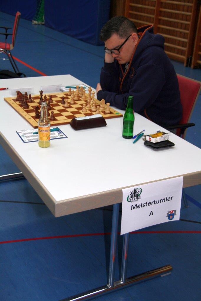Roland Ollenberger im A-Turnier